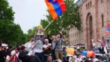 May 8, Yerevan Armenia - Republic Square - After Parliament Voted In Pashinian As PM