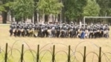 Belarus - At the institute of the Ministry of Internal Affairs in Mogilev police is learning to disperse protests. Jul2020