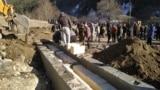Захоронение останков времен Средневековья в Северной Осетии