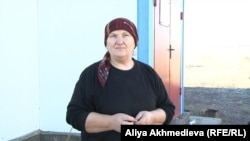 Сарыбұлақ ауылының тұрғыны Малисат Кунчиева.