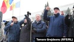 Din iarna protestelor de la Chișinău...