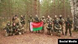 """Russia —Belarusians in russian nazi """"Rusich"""" training camp"""