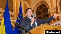 Михаил Саакашвили в Одессе в октябре 2015 года