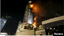 Address հյուրանոցը այրվում է