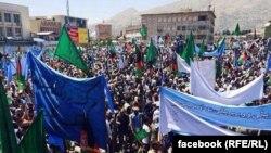 Митинг в поддержку кандидата в президенты Афганистана Абдуллы Абдуллы. Кабул, 27 июня 2014 года.