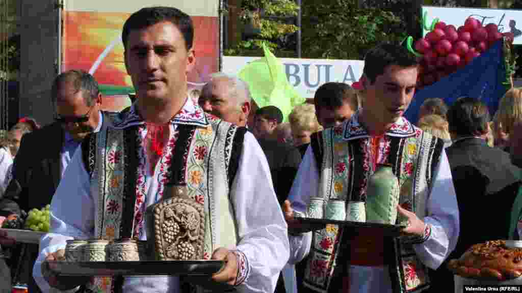 Winemaking in Moldova is deeply tied to the country's folk traditions.