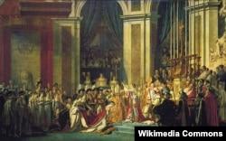 Коронация Наполеона Бонапарта в соборе Нотр-Дам