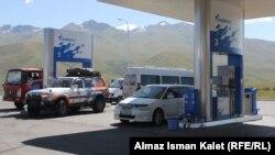 Қырғызстандағы жанармай құю станцияларының бірі. (Көрнекі сурет)