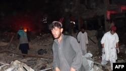 Qəndəhara iki gün öncə bomba hücumu nəticəsində azı 43 nəfər ölüb, 60-dan çox adam xəsarət alıb