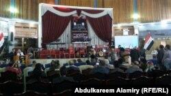 جلسة افتتاح مهرجان البصرة الثقافي