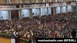 Over 3,200 people are participating in Consultative Loya Jirga of Afghanistan in the capital Kabul on April 29.