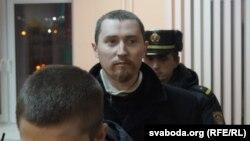Дзьмітры Казлоў у судзе