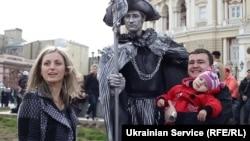 Фестиваль живих скульптур на Гуморині, Одеса, 2013