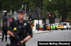 Лондон, 14 серпня 2018 року. Поліція на місці інциденту