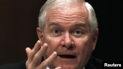 U.S. Defense Secretary Robert Gates: Fed up.