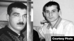 Keçmiş OMON-çular Səfa Poladov və Arif Kazımov