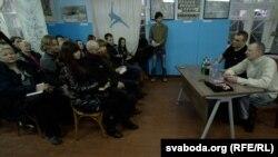 Сустрэча з Кулінковічам на сядзібе БНФ
