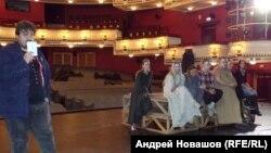 """Обсуждение эскиза """"Начало"""""""