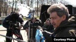 Валерий Ахадов — автор фильмов: как «Руфь» с Анни Жирардо в главной роли, «Женщин обижать не рекомендуется», «Парниковый эффект»; преподает во ВГИКе. [Фото — <i>Гильдия кинорежиссеров</i>]