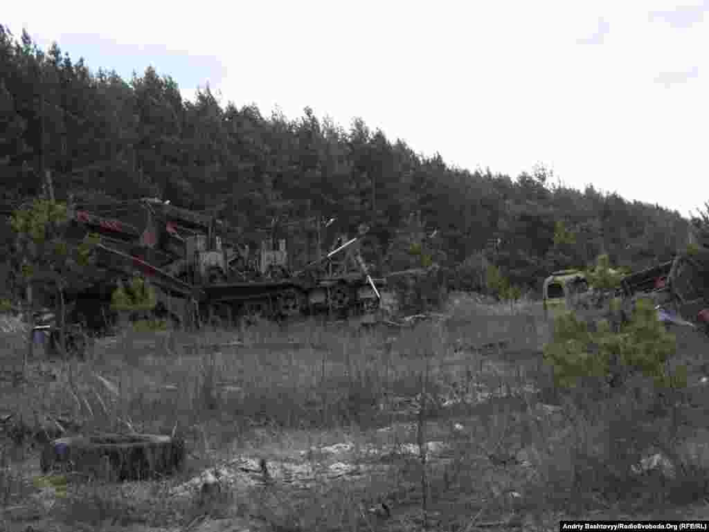Пункт зберігання «Розсоха» – один із найнебезпечніших об'єктів Чорнобильської зони.