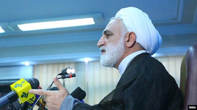 Iran's chief prosecutor, Gholamhossein Mohseni-Ejei