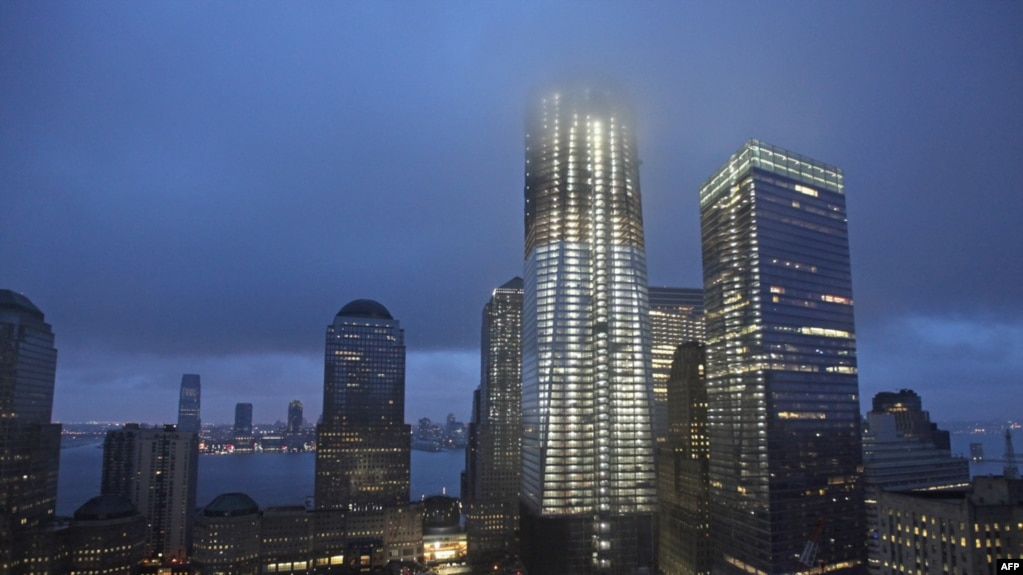 new world trade center rises from the ashes