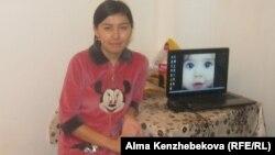 Жансая Тосубаева, студентка Казахского экономического университета имени Турара Рыскулова. Алматы, 15 ноября, 2013 года.