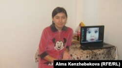 Студент Жансая Тосубаева. Алматы, 15 қараша 2013 жыл.