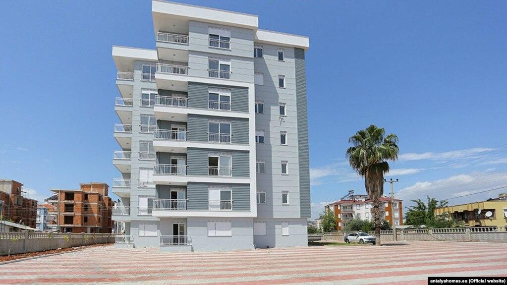 آپارتمانهایی برای فروش در آنتالیا