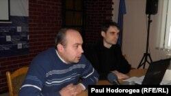 Cornel Ciurea și Sergiu Rusanovschi (IDIS Viitorul)