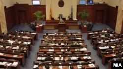 Jedna od sednica makedonskog parlamenta