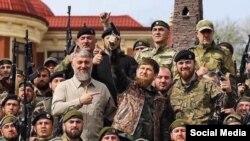 "Нохчийчоьнан куьйгалхо Кадыров а, Делимханов а, цуьнан ""кадырхой"" олу тIемалой"