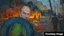 Тарас Шевченко, «Григорович проти...» Юрія Шаповала (фото з Facebook)