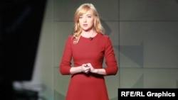 Natalia Sedletska is the host of Schemes, an award-winning anticorruption television program by RFE/RL's Ukrainian Service and Ukrainian Public Television.