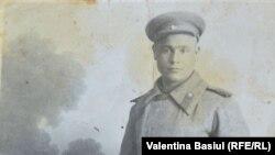 Veteranul de război Gheorghe Bivol