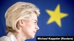 Кандидатката за нов претседател на Европската комисија, германската министерка за одбрана Урсула фон дер Лајен