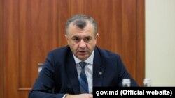 Premierul Ion Chicu la prima ședință a guvernului său, Chișinău, 15 noiembrie 2019