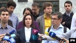 Lidera PAS, Maia Sandu, a depus o plângere penală împotriva liderului PDM, Vlad Plahotniuc