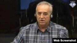 Momir Nikolić svjedoči u Hagu, 3. lipanj 2013.