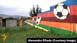 Zidul de la Ostrovany, în estul Slovaciei