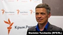 Сергій Мокренюк, представник Крайової Ради Українців Криму