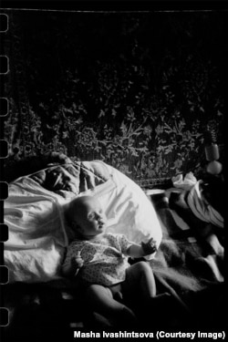 Ребенок в Ленинграде. 1981 год.