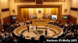 نشست وزیران خارجه اتحادیه عرب در قاهره.