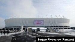 Стадион Ростов Арена города Ростов-на-Дону. 2 марта 2018 года.