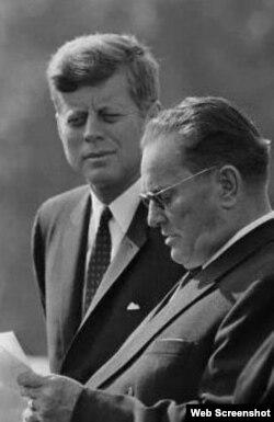 John F. Kennedy i Josip Broz Tito