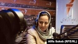جمیله نورستانی معین امور تخنیکی وزارت دولت در امور شهدا و معلولین