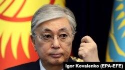 Kazakh President Qasym-Zhomart Toqaev (file photo)