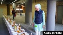 Ифтар в мечети Казани. Татарстан, 25 мая 2019 года.