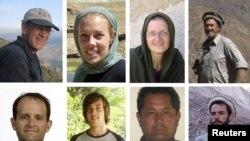 Tetë nga dhjetë punonjësit humanitarë në Afganistan, që u vranë nga talibanët.