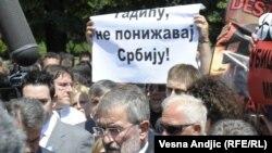 Anti NATO protesti Srpske radikalne stranke u Beogradu, juni 2011